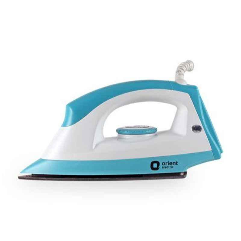 Orient Fabrijoy 1000W White & Blue Dry Iron, DIFJ10BP