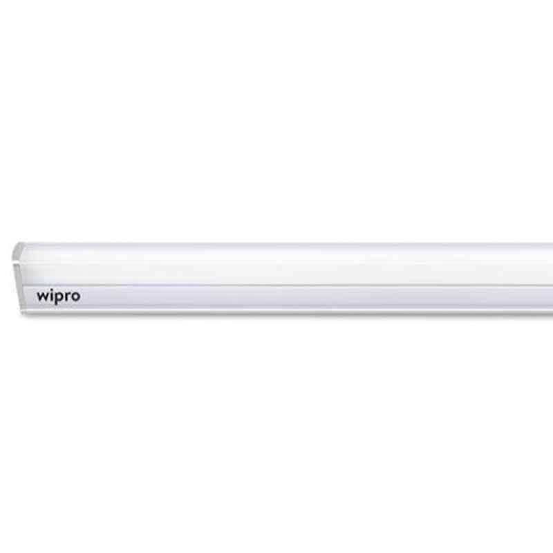 Wipro Garnet 22W Cool Day White High Lumen LED Batten Light, D532265 (Pack of 4)