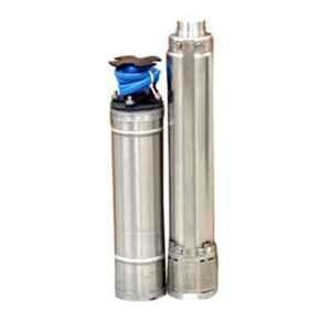 Oswal 1.5HP 60m Single Phase Borewell Submersible Pump, SHINE SMART-W/F-4K-1PH