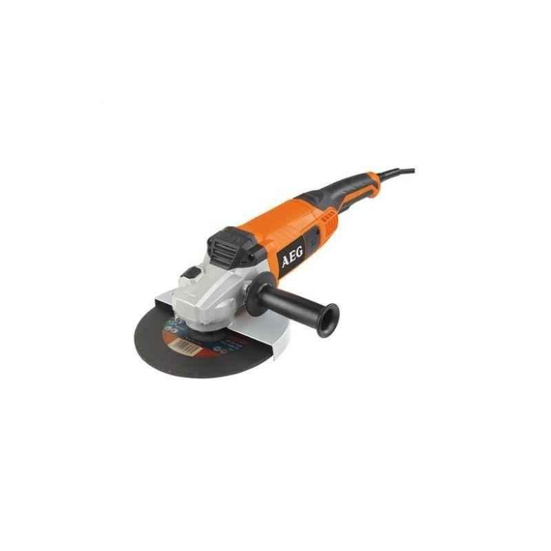 AEG 2200 W Angle Grinder 9 Inch, WS 2200-230