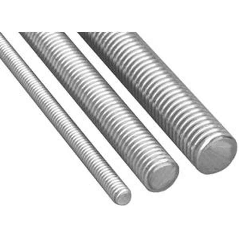 Mahavir Fasteners Stainless Steel Threaded Rod (Dia M14 Length 1 Mtr.)