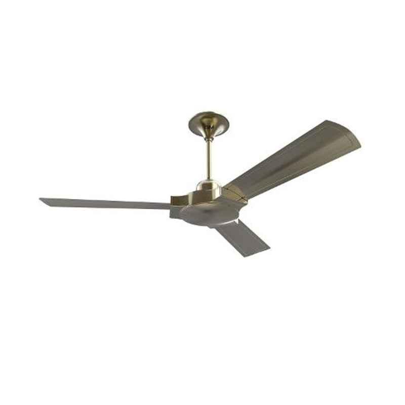 GM Lustre 75W Antique Brass Ceiling Fan, CFP480013BAEP, Sweep: 1200 mm