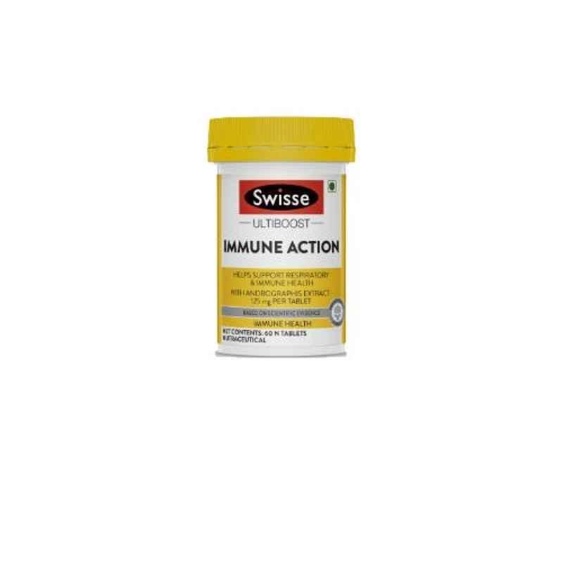 Swisse 60 Pcs Ultiboost Immune Action Tablets, HHMCH9533900602