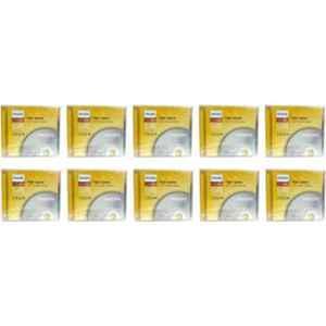 Philips 700MB CD-RW 12x Speed Jewel Case CD Rewritable, (Pack of 10)