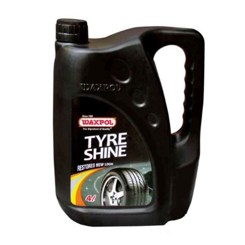 Waxpol 4L Tyre Shine for Drying, Cracking & Fading, CTY330