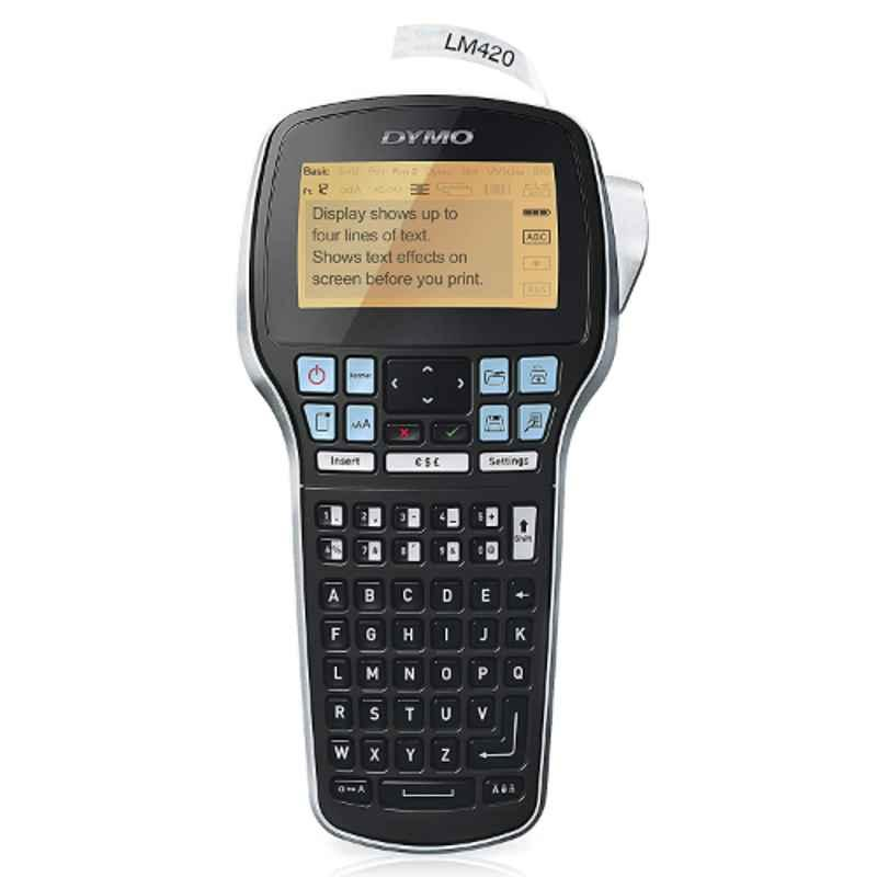 DYMO Labelmanager-420P High Performance Rechargeable Portable Label Maker with Computer Connection