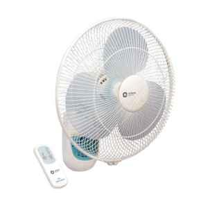 Orient Wall-49 White Wall Fan with Remote, Sweep: 400 mm