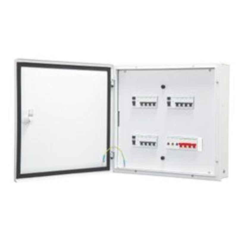 HPL Three & Neutral Pole 4 Way EX Range - Double Door Project Distribution Board, MDBECOTDD04