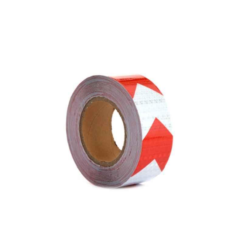 Darit ES-99 White & Red Waterproof Arrow Reflective Tape, Length: 25 m
