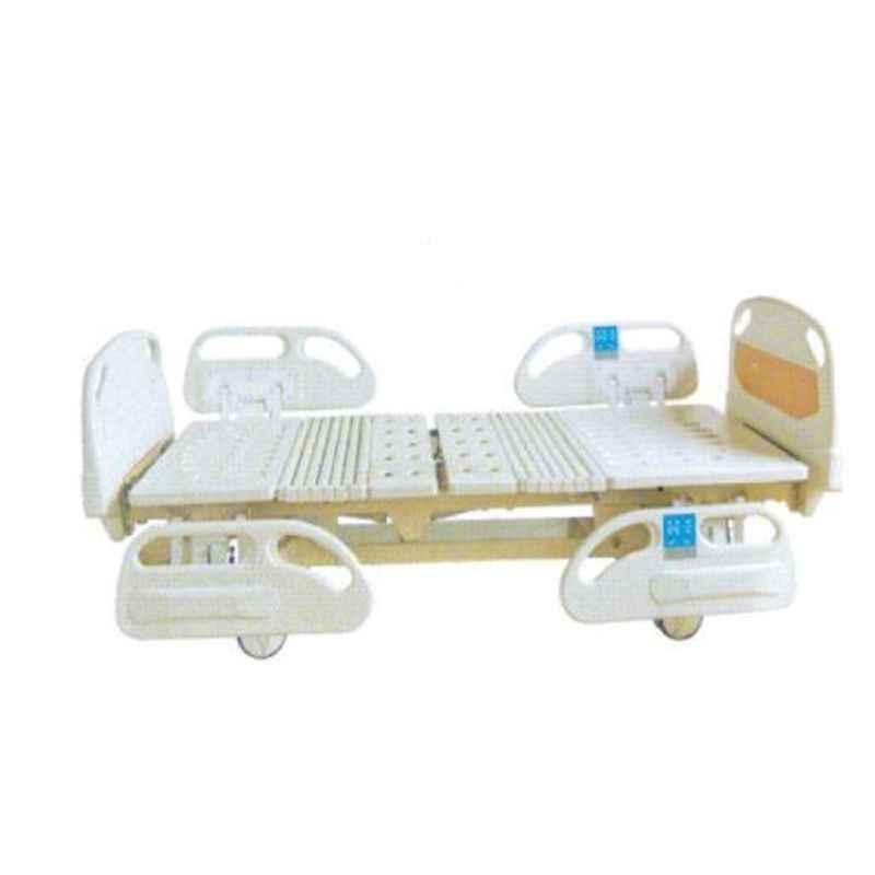 Aar Kay 210x90cm Electric Platform ICU Bed with Panels, Side Railings & Adjustable Height