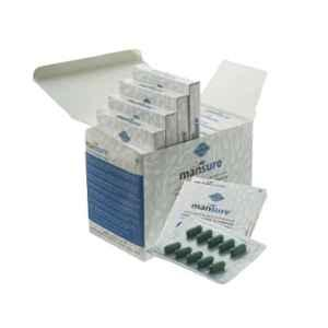 ManSure 100 Pcs Ayurvedic Male Health Supplement Capsules
