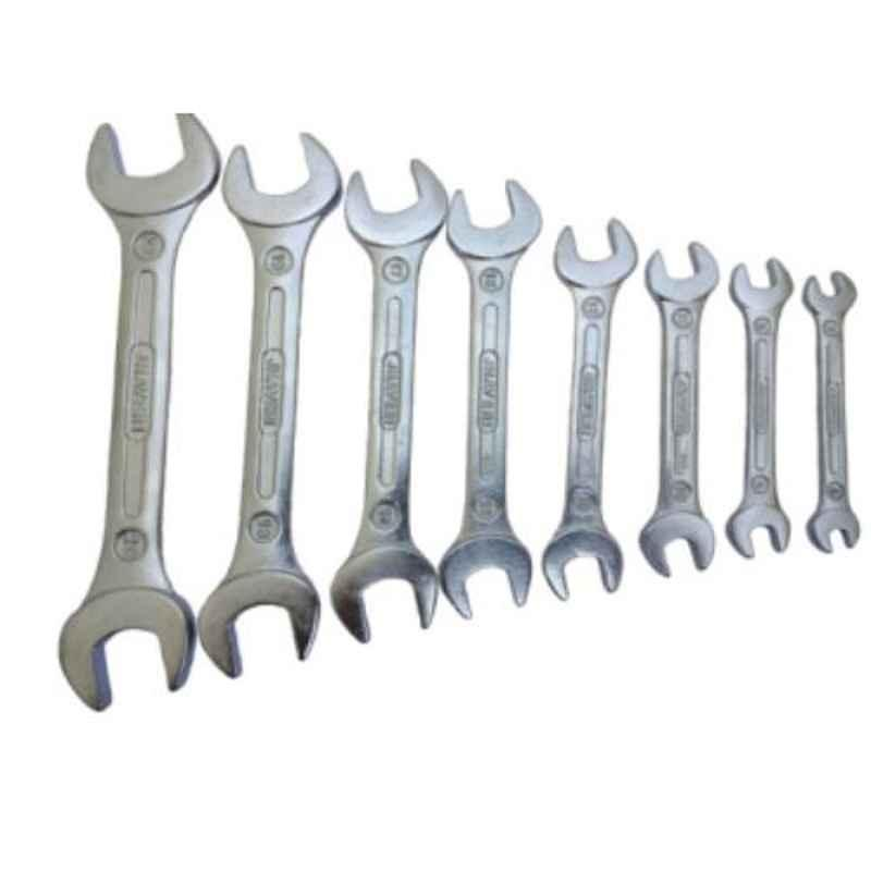 GSK Cut 8 Pcs Double Sided Open End Wrench Set