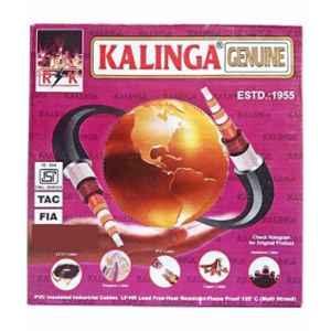 Kalinga Genuine 4mm Black House Wiring, Length: 90m