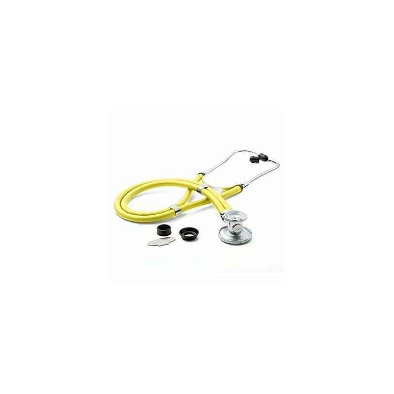 Shakuntla Pluss Rappaport Yellow Dual Head Stethoscope Convertible Chest-Piece