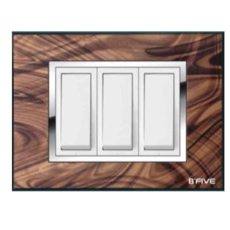 B-Five Zion 8 Module Square Cover Plate, B-66Z (Pack of 10)