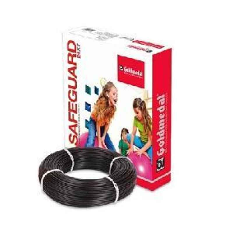 Goldmedal PVC Wire 06104BLAK 1100V