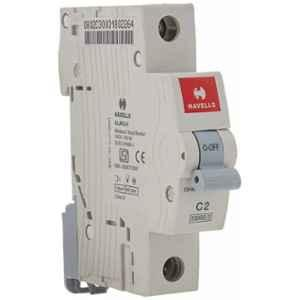 Havells EURO-II 16A C Curve SP MCB, DHMGCSPF016 (Pack of 12)