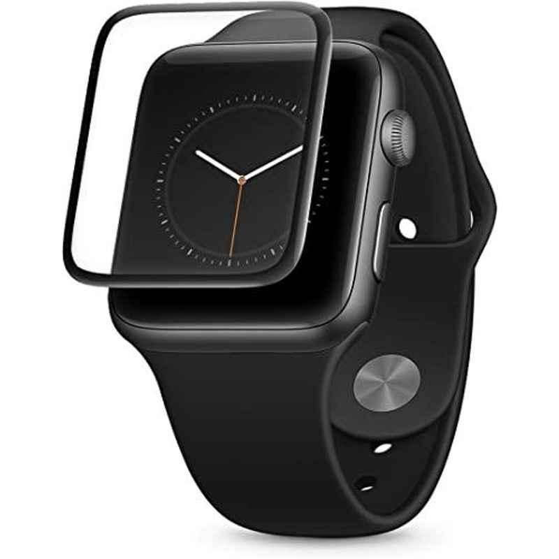 AT&T Black 3D Tempered Glass Screen Protector for Apple Watch, AWTG-42