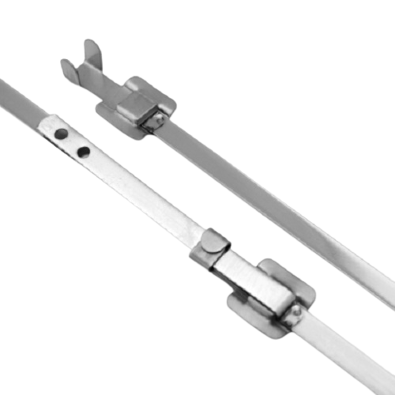 Aftec 6.3x610mm Non-Magnetic Stainless Steel Releasable Cable Tie, ACTI 6.3-610 RS