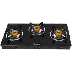 Fogger Smart 3 Burner Automatic Ignition Gas Stove with Glass Top, FHYD-304-CI