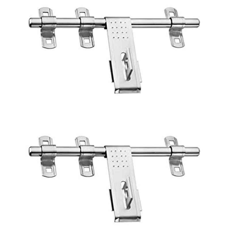 Smart Shophar 10 inch Stainless Steel Silver Souply Aldrop, SHA40AL-SOUP-SL10-P2 (Pack of 2)