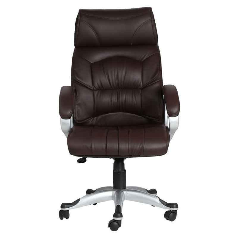 Caddy PU Leatherette Adjustable Study Chair with Back Support, DM135