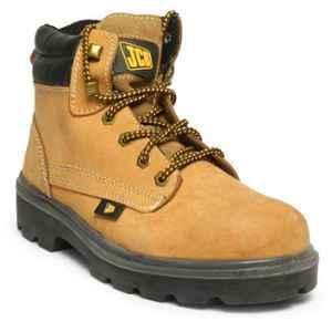 JCB Trekker Brown Steel Toe Safety Shoes, Size: 7