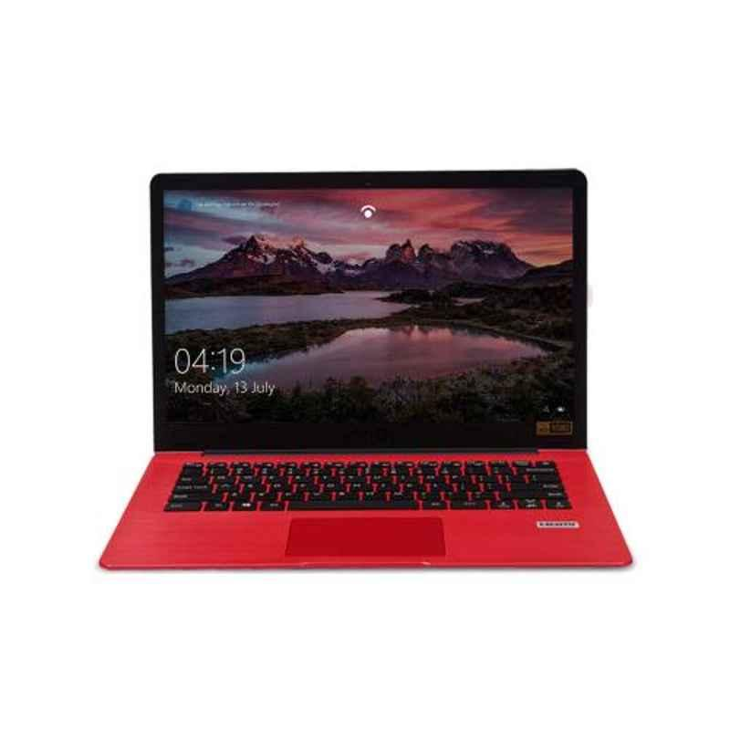 AVITA PURA AMD A9-9420E 8GB DDR4 RAM 256GB SSD/Windows 10 Home & 14 inch Display Sugar Red Laptop, NS14A6IND541-SRGYB