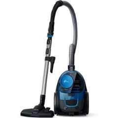 Philips PowerGo Dark Royal Blue Compact Bagless Vacuum Cleaner, FC9352/01