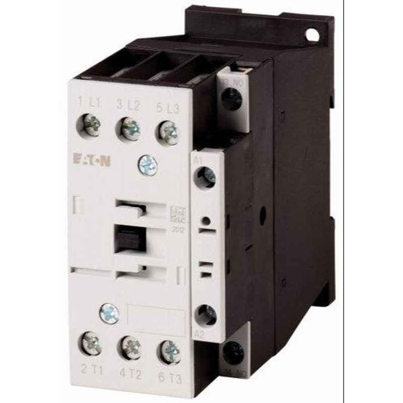 Eaton 9A 3 Pole 1 N/O DC-Coil Mini Contactor, DILEM-10-G(220V,DC)