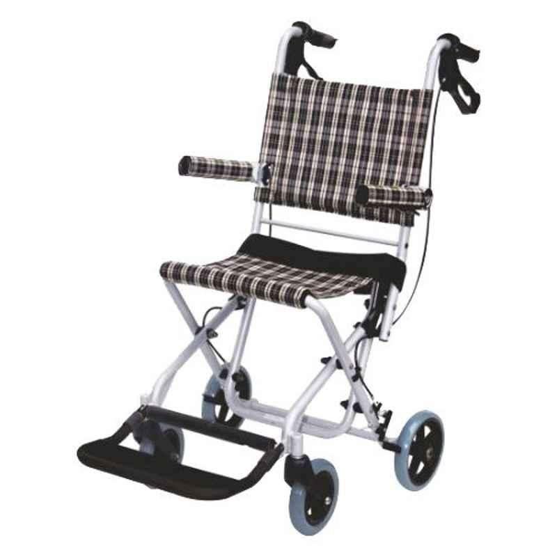 Easycare 75kg Portable Traveling Aluminum Wheelchair, EC9002L