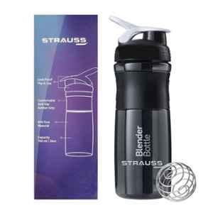 Strauss Blender 760ml Black Shaker Bottle, ST-1311