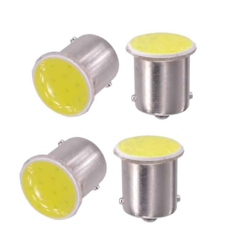 AllExtreme EXCDT4W 4 Pcs T10 22 SMD COB Chip LED Front & Back Indicator Light Set