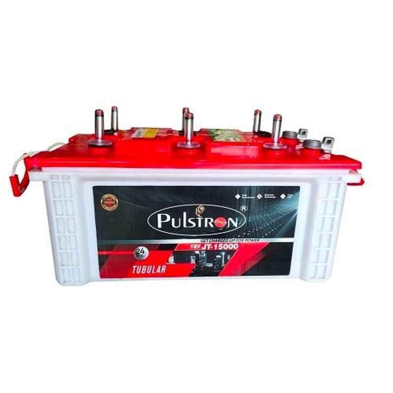 Pulstron 12V 150Ah Dry Jumbo Tubular Inverter Battery, JT-15000PI