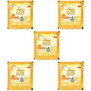 Dr. Morepen Orange Drink ORS Powder Sachets (Pack of 5)
