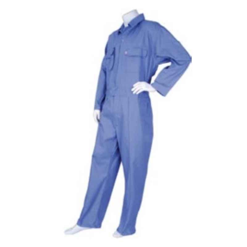 Techtion Comfy Multipro Orange 270 GSM Twill Weave Cotton Coverall Suit, Size: XXXXL