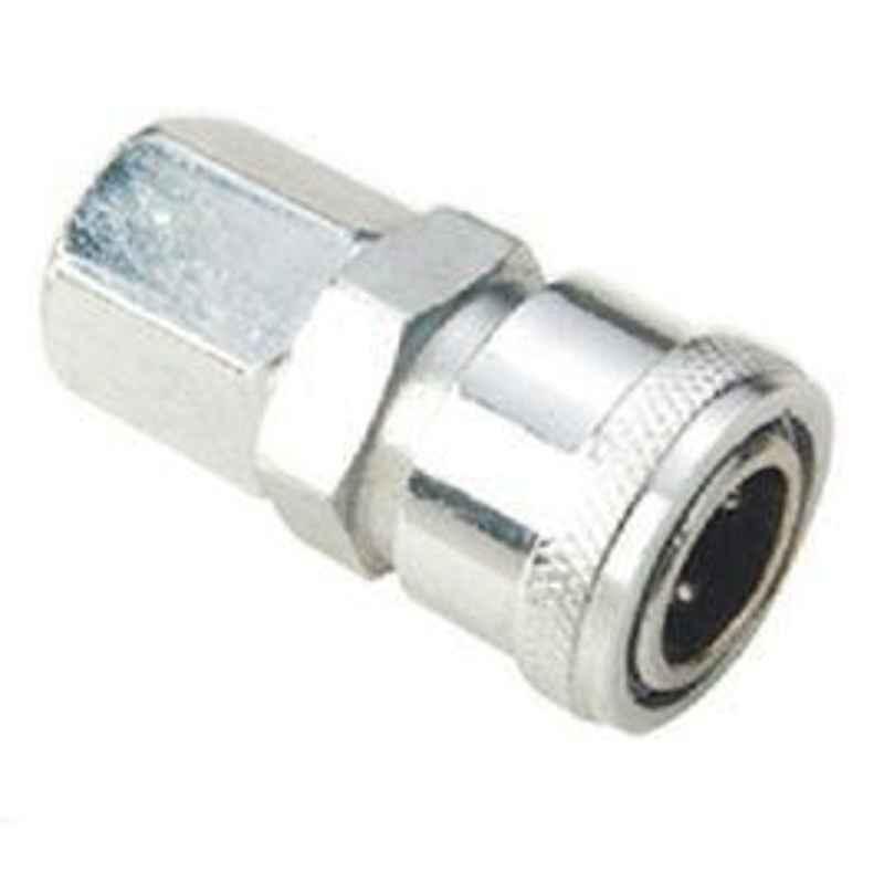 VAC 1/2 Inch Socket Female Single Shut-Off Hi-Coupler - 40SF CS