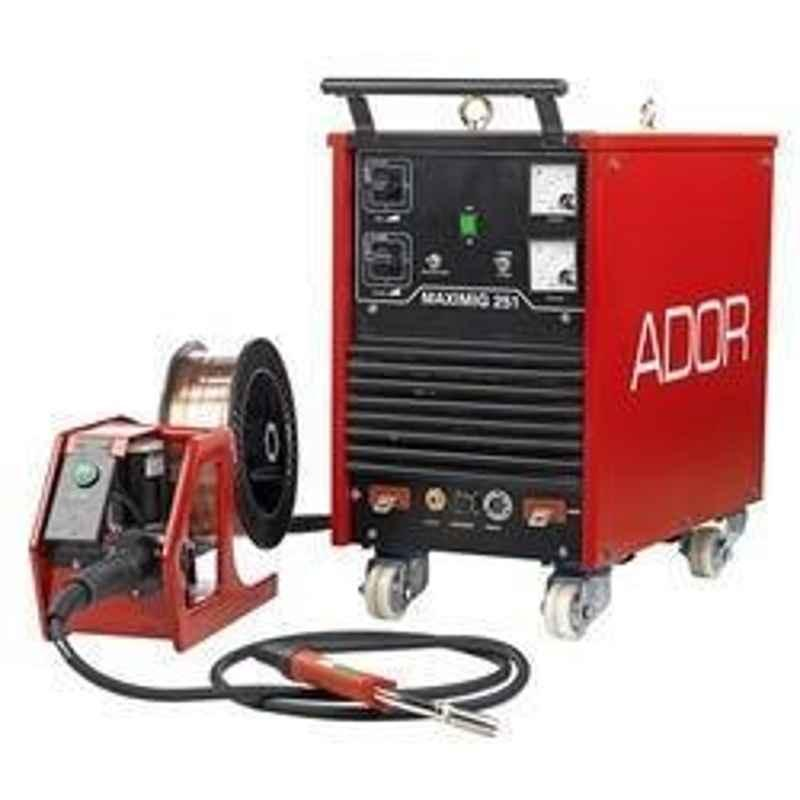 Ador Welding MAXIMIG 251 a b c d Diode Based Mig/Mag Welding Outfit