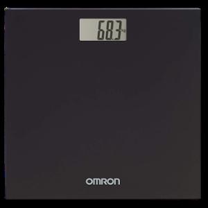 Omron HN-289-EBK Midnight Black Digital Weighing Scale