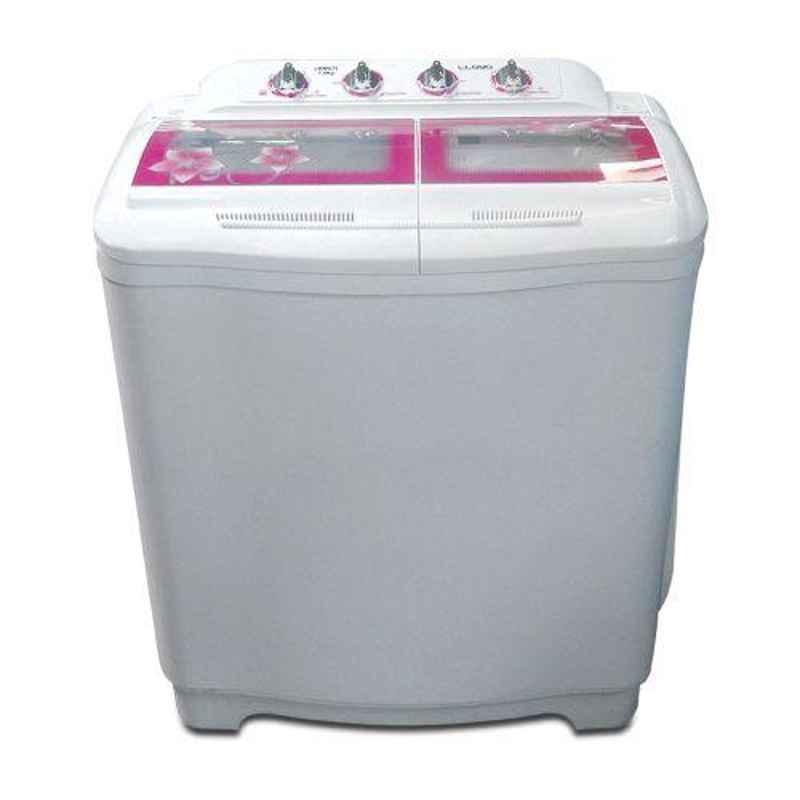 Lloyd Tri Star 7.5kg White Semi Automatic Top Load Washing Machine, LWMS75
