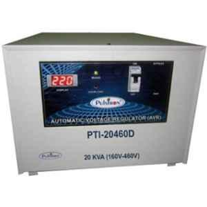 Pulstron PTI-20460D 20kVA 160-460V Double Phase Grey Automatic Mainline Voltage Stabilizer