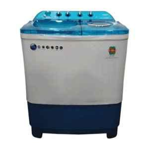 Lloyd Supreme Wash 8kg Blue Semi Automatic Top Load Washing Machine, LWMS80BDB