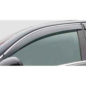 Garage Master 4 Pcs Chrome Lining Door Visor for Maruti Suzuki Ciaz