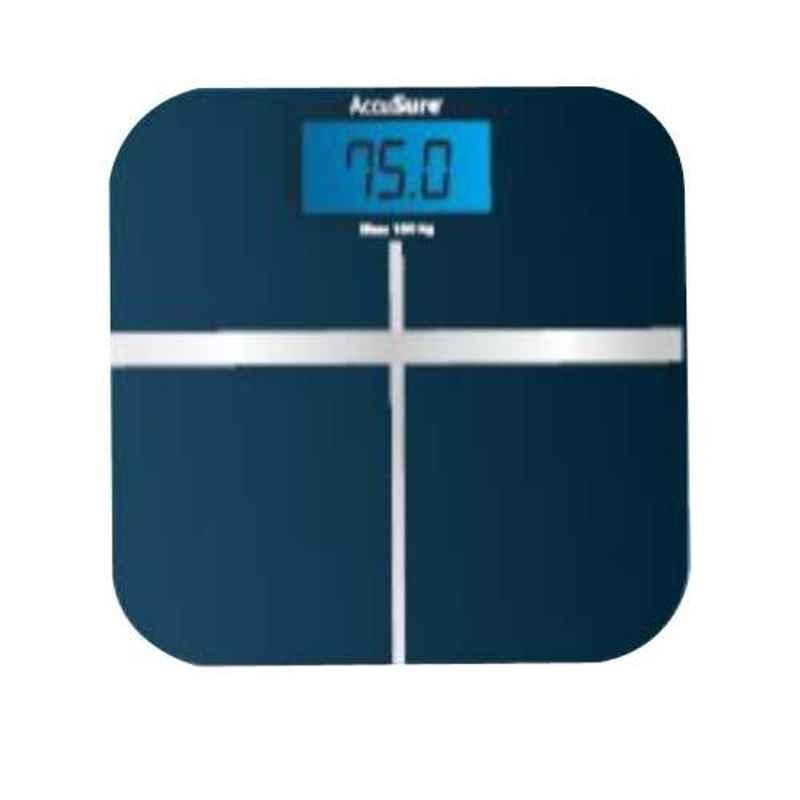 AccuSure SF-180B 180kg Blue Designer Weighing Scale