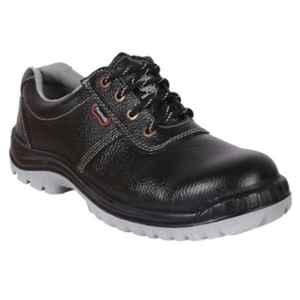 Hillson Panther Steel Toe Black Safety Shoes, Size: 8