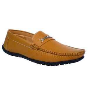Mr Chief 810 Tikon Tan Smart Loafers for Men, Size: 10