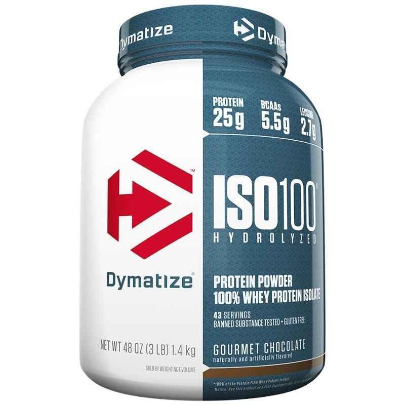 Dymatize ISO-100 3lbs Gourmet Chocolate Whey Protein