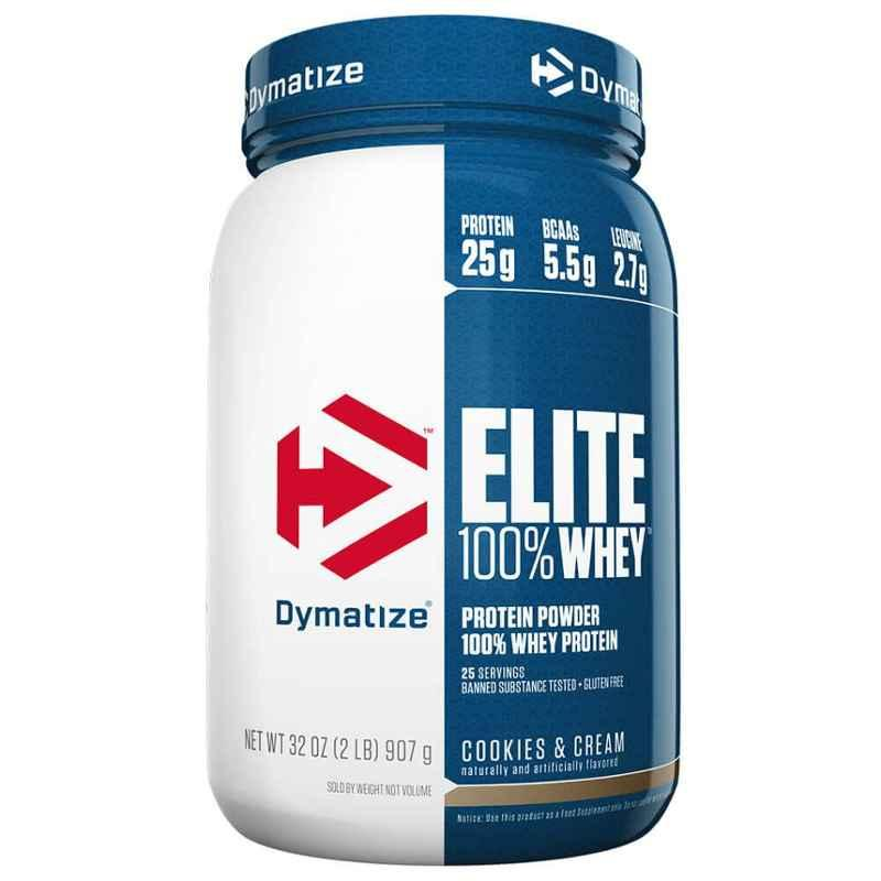 Dymatize Elite 2lbs Cookie and Cream Whey Protein