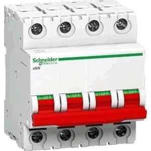 Schneider A9S4P080 240/415 V Four Pole Isolator