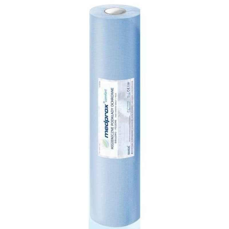KosmoCare Hygiene 15x20 inch Blue Protective Sheet Roll, IXMPS3850B